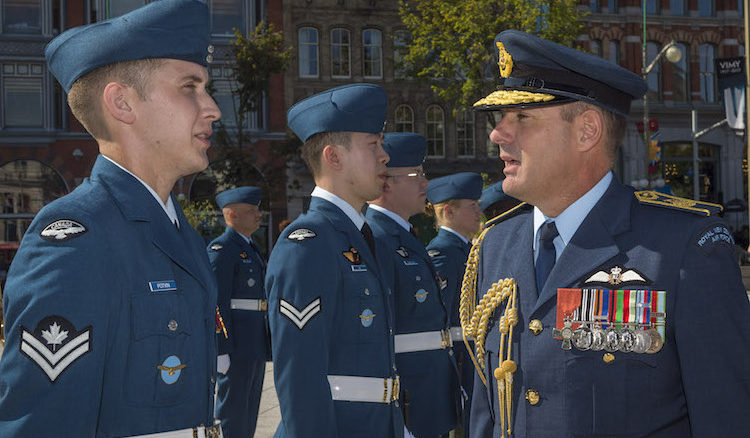 Chief of Air Force, AVM Tony Davies