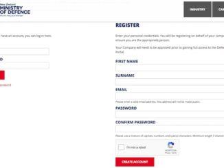 MoD Industry Portal